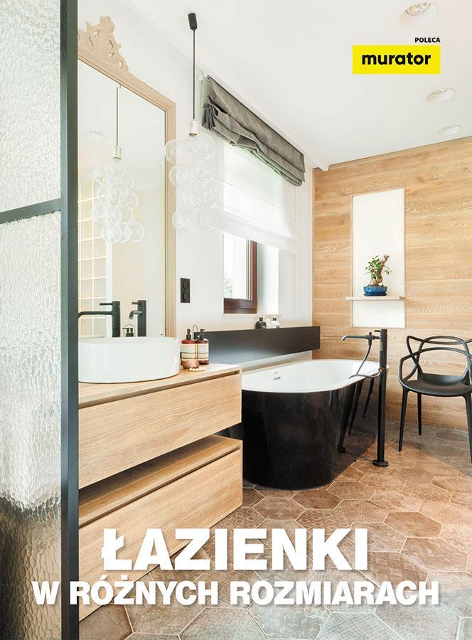 Łazienki w różnych rozmiarach