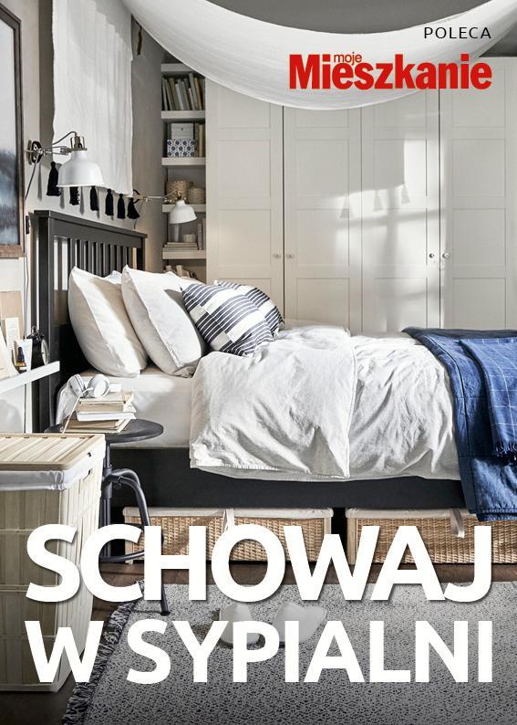 Schowaj w sypialni