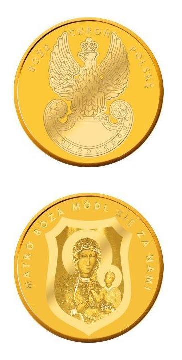 Numizmat Boże Chroń Polskę
