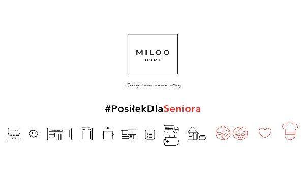 Miloo Home włączyło się w akcję #PosiłekDlaSeniora