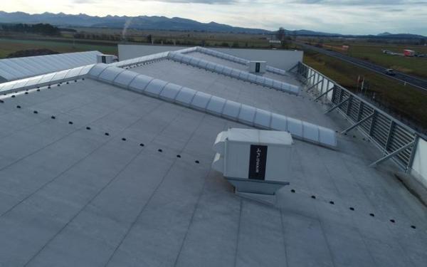 Rooftop Cube - urządzenia do wentylacji bezkanałowej typu rooftop do obiektów przemysłowych