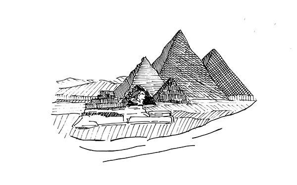 Piramidy 2650 lat p.n.e.