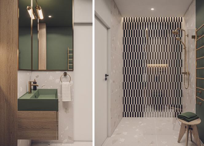 Klasyczna elegancja – łazienka w wersji pierwszej